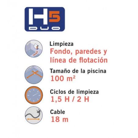 LIMPIAFONDOS H5 DUO ASTRALPOOL 66016