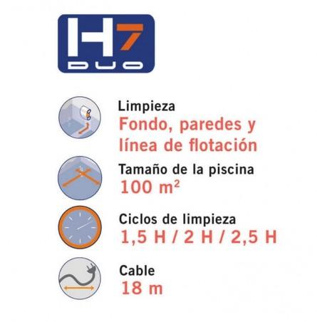 LIMPIAFONDOS H7 DUO ASTRALPOOL 69967