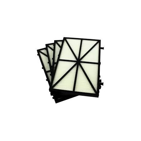 KIT 4 PANELES FILTRO PRIMAVERA DOLPHIN ZENIT-ACTIVE-EXPLORER 9991432-ASSY